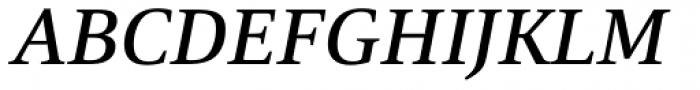 Mangan Medium Italic Font UPPERCASE