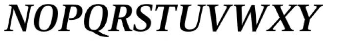 Mangan Nova Bold Italic Font UPPERCASE
