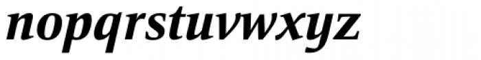 Mangan Nova Extra Bold It Font LOWERCASE
