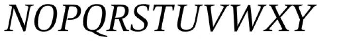 Mangan Nova Italic Font UPPERCASE
