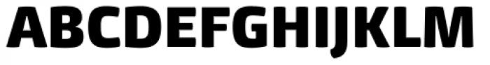 Mangerica Black Font UPPERCASE