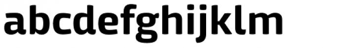 Mangerica Bold Font LOWERCASE