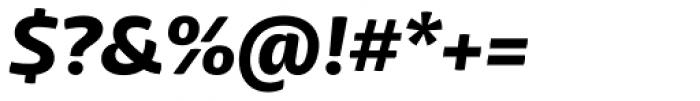 Mangerica ExtraBold Italic Font OTHER CHARS
