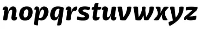 Mangerica ExtraBold Italic Font LOWERCASE