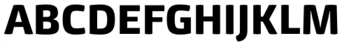 Mangerica ExtraBold Font UPPERCASE