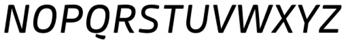 Mangerica Italic Font UPPERCASE