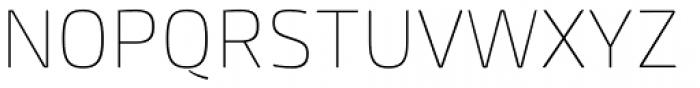 Mangerica Thin Font UPPERCASE