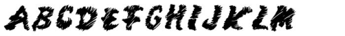 Mango Scribble Font UPPERCASE