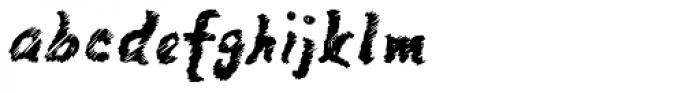 Mango Scribble Font LOWERCASE