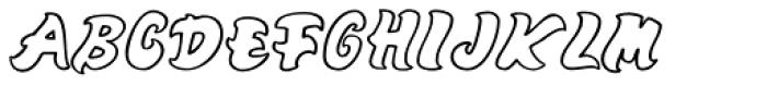 Mango Font UPPERCASE