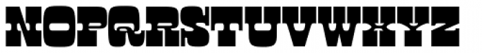 Manicotti Font UPPERCASE