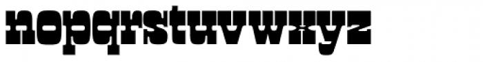 Manicotti Font LOWERCASE