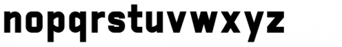 Manifest Heavy Font LOWERCASE