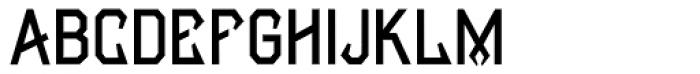 Manifesto Bold Normal Font UPPERCASE