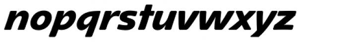 Mano Pro ExtraBold Font LOWERCASE
