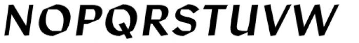 Manofa Italic Font UPPERCASE