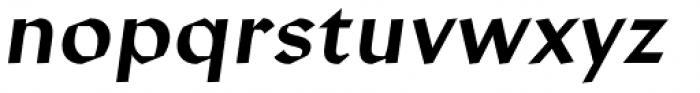 Manofa Italic Font LOWERCASE