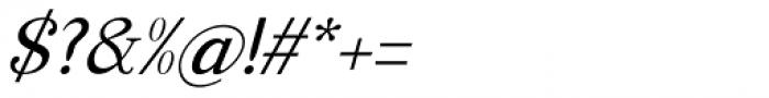 Manohara Pro Italic Font OTHER CHARS
