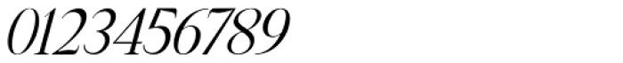 Manohara Pro Light Italic Font OTHER CHARS