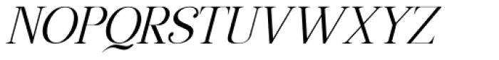 Manohara Pro Light Italic Font UPPERCASE