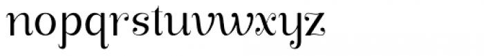 Manohara Pro Light Font LOWERCASE