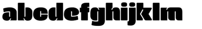 Manometer Sans Font LOWERCASE