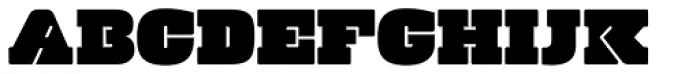 Manometer Font UPPERCASE