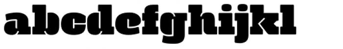 Manometer Font LOWERCASE