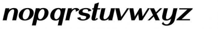 Mansory Bold Oblique Font LOWERCASE