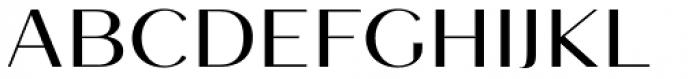 Mansory Medium Font UPPERCASE