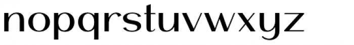 Mansory Medium Font LOWERCASE