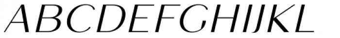 Mansory Regular Oblique Font UPPERCASE