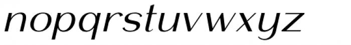 Mansory Regular Oblique Font LOWERCASE
