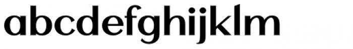 Mansory Semi Bold Font LOWERCASE