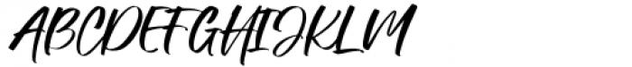 Manstromer Regular Font UPPERCASE