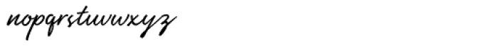 Manthoels Regular Font LOWERCASE