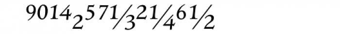 ManticoreT Italic Extra Sorts Font LOWERCASE