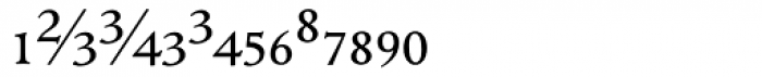 ManticoreT Roman Extra Sorts Font LOWERCASE