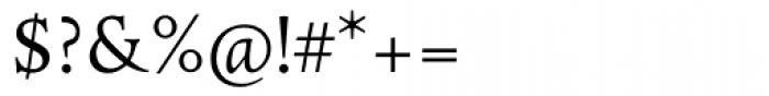 ManticoreT Roman Font OTHER CHARS