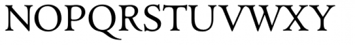 ManticoreT Roman Font UPPERCASE