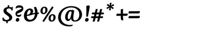 Mantika Book W1G Bold Italic Font OTHER CHARS