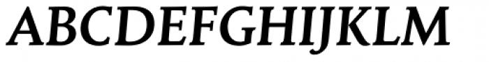Mantika Book W1G Bold Italic Font UPPERCASE