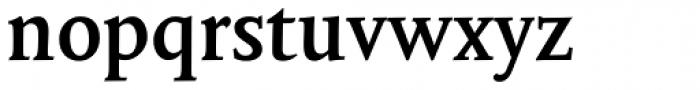 Mantika Book W1G Bold Font LOWERCASE