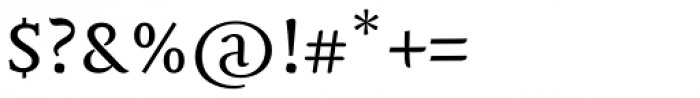 Mantika Book W1G Font OTHER CHARS