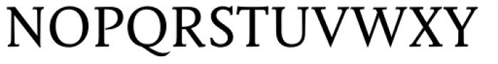 Mantika Book W1G Font UPPERCASE