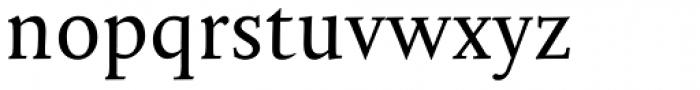 Mantika Book W1G Font LOWERCASE