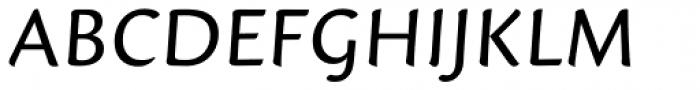 Mantika Informal Pan European W1G Regular Font UPPERCASE