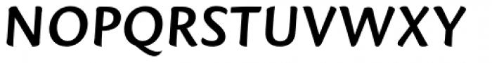 Mantika Sans Paneuropean W1G Bold Italic Font UPPERCASE