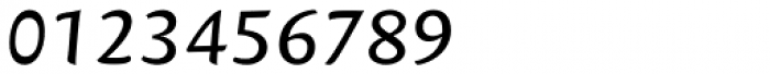 Mantika Sans Paneuropean W1G Italic Font OTHER CHARS
