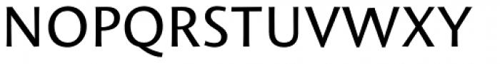 Mantika Sans Paneuropean W1G Regular Font UPPERCASE